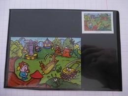 KINDER : PUZZLE  En Carton N° 114, Complet -  2000 - Détails Sur Le Scan - Puzzles