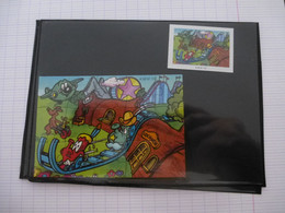 KINDER : PUZZLE  En Carton N° 112, Complet -  2000 - Détails Sur Le Scan - Puzzles
