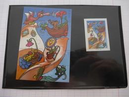 KINDER : PUZZLE  En Carton N° 110, Complet -  2001 - Détails Sur Le Scan - Puzzles