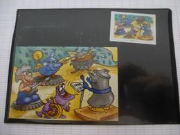 KINDER : PUZZLE  En Carton N° 111, Complet -  2002 - Détails Sur Le Scan - Puzzles