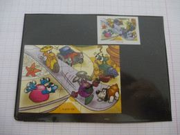 KINDER : PUZZLE  En Carton N° 109, Complet -  2002 - Détails Sur Le Scan - Puzzles