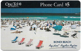 Australia - OneTel - Bondi Beach, Remote Mem. 5$, Used - Australia