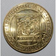 AUSTRIA - 20 SCHILLINGS 2000 - 150 ANS DU TIMBRE AUTRICHIEN - FDC - - Austria