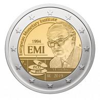 BELGIQUE - 2 EURO 2019 - 25 ANS DE L'INSTITUT MONÉTAIRE EUROPÉEN - Coincard - BU - Bélgica