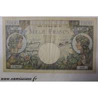 FAY 39/04 - 1000 FRANCS 1941 - 06/02 - TYPE COMMERCE ET INDUSTRIE - PICK 96 - ALPHABET RARE - TTB - 1 000 F 1940-1944 ''Commerce Et Industrie''