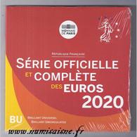FRANCE - COFFRET EURO BRILLANT UNIVERSEL CLASSIQUE 2020 - 8 PIECES - BU - Francia
