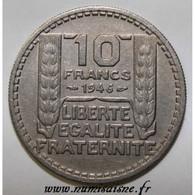 GADOURY 810a - 10 FRANCS 1946 - TYPE TURIN RC - KM 908.2 - TTB+ - K. 10 Francos