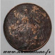 GADOURY 277 - 10 CENTIMES 1921 - TYPE DUPUIS - KM 846 - B - D. 10 Céntimos