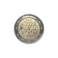 FINLANDE - 2 EURO 2020 - 100 ANS DE L'UNIVERSITE DE TURKU - SPL - Finlandía