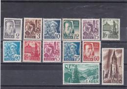 Französische Zone, Baden 1-13** (T 18858) - Zona Francesa