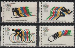JO72/E11 - ETATS-UNIS N° 959/62 Neufs** Jeux Omympiques 1972 - Ongebruikt