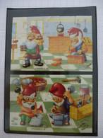 KINDER ? : LOT De 2 PUZZLES  En Carton Complet - FERRRRO 1992 - Détails Sur Le Scan - Puzzles