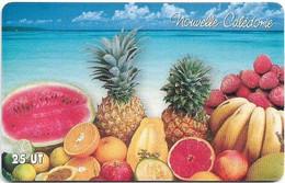 New Caledonia - OPT - Corbeille De Fruits, Gem1A Symmetr. Red, 2006, 25Units, 50.000ex, Used - Nouvelle-Calédonie