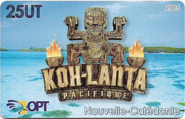 New Caledonia - OPT - Kho-Lanta Pacifique, Gem1A Symmetr. Red, 2005, 25Units, 45.000ex, Used - Nouvelle-Calédonie