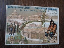 L29/56 CHROMO CHAUSSURES PHILIPPE LATOUR A LIANCOURT - Sonstige
