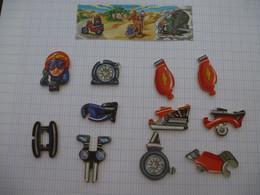 KINDER : PUZZLE En Carton Complet - MOTO N° 103 - 2003 - Détails Sur Les 2 Scans - Puzzles