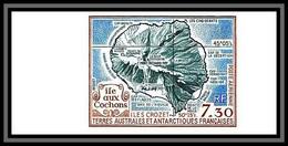 89902f Terres Australes Taaf Poste Aérienne PA N°110 Ile Aux Cochons Pigs Island Non Dentelé Imperf ** MNH - Geschnitten, Drukprobe Und Abarten