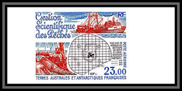 89915f Terres Australes Taaf PA N°130 Chalutier Peche Fishing Fishery  Ship Bateau Non Dentelé Imperf ** - Geschnitten, Drukprobe Und Abarten