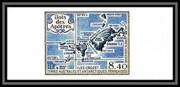 89918d Terres Australes Taaf PA N°103 Ilots Des Apotres Carte Island Map Non Dentelé Imperf ** MNH - Geschnitten, Drukprobe Und Abarten