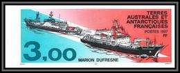89925d Terres Australes Taaf N°215 Bateau Marion Dufresne Ship Boat Non Dentelé Imperf ** MNH - Geschnitten, Drukprobe Und Abarten