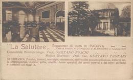 Padova Cartolina Pubblicitaria La Salutare Soggiorno Di Cure FP P597 - Padova (Padua)
