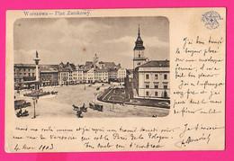 CPA (Réf: Z 3265) (POLOGNE) WARZAWA PLAC ZAMKOWY - Polen