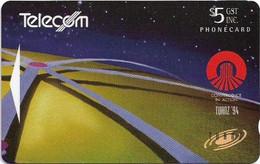 New Zealand - NZT (GPT) - Event Cards - Futuristic World (International Collectors Issue 1994), 1994, 5$, Used - Nuova Zelanda
