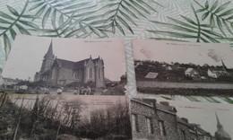 5 Cpa Villages St Malon,  Goven , St Didier Et Vicomté - Non Classés