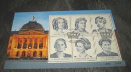 Blok 89° Zes Belgische Koninginnen Gestempeld Eerstedag 2971/76°/ Obliteré 1e Jour- Les 6 Reines Belges (o) - Belgien