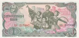 (B0267) NORTH KOREA, 1978. 1 Won. P-18a. UNC - Korea, Noord