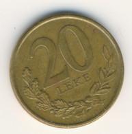 ALBANIA 2012: 20 Leke, KM 78a - Albania