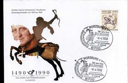 Bundespost Berlin - FDC - Europäische Postverbindungen - FDC: Covers