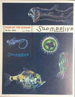 Somalia 1998 Year Of The Ocean Marine Life Minisheet MNH - Marine Life