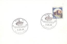 ROMA FILATELICO 1989 UFFICIO MOBILE S. PIETRO   POST CARD   (SETT200618) - Posta