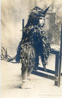 Carte Photo - Enfant Deguise En Poussin - Aiglon? - Foto Netelle - Revillabigedo 24 - Niños