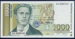 Banknotes 1000 Lv - Bulgaria 1997 Year UNC - Bulgarie