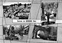 Souvenir De COTIGNAC - Vues Multiples - Fontaine - Cotignac