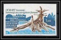 92186 Terres Australes Taaf N°77 Hobart Tasmanie Non Dentelé Imperf ** MNH - Geschnitten, Drukprobe Und Abarten