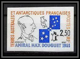 92589 Terres Australes Taaf N°157 Amiral Max Douguet Non Dentelé Imperf ** MNH - Geschnitten, Drukprobe Und Abarten