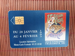 Phonecard Monaco MF 25 Used Rare - Mónaco