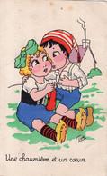 """Illustrateur TOM. """" Une Chaumière Et Un Coeur """" - Andere Zeichner"""