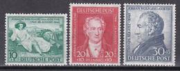 Men_ All. Besetzung Bizone 1949 - Mi.Nr. 108 - 110 - Postfrisch MNH - Bizone
