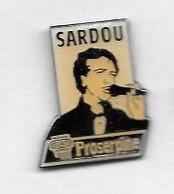 Pin's  Musique, Chanteur  Michel  SARDOU, Proserpine - Musica