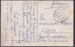 Feldpost II Weltkrieg Auslandkarte Aus Engelsdorf über Malmedy - Occupation 1938-45