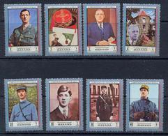 017 A Charles De Gaulle - Manama N° 1232 - 1239 Neuf ** MNH Grand Format - De Gaulle (General)