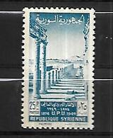 Syrie Poste  1949 U PU   Cat Yt N° 32  Et 33   N** MNH - Siria