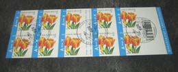 Boekje / Carnet 54° 3406(o)  Oranje Tulpen - Eerstedagstempels - Obliteré 1e Jour - Belgio