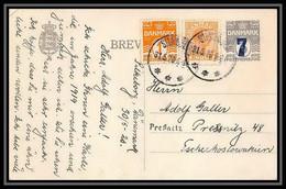 3120/ Danemark (Denmark) Entier Stationery Carte Postale (postcard) 1920 - Interi Postali