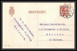 3158/ Danemark (Denmark) Entier Stationery Carte Postale (postcard) 1919 - Interi Postali