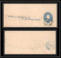 3305/ USA Entier Stationery Enveloppe (cover) Pour St Petersburg Russia - 1901-20